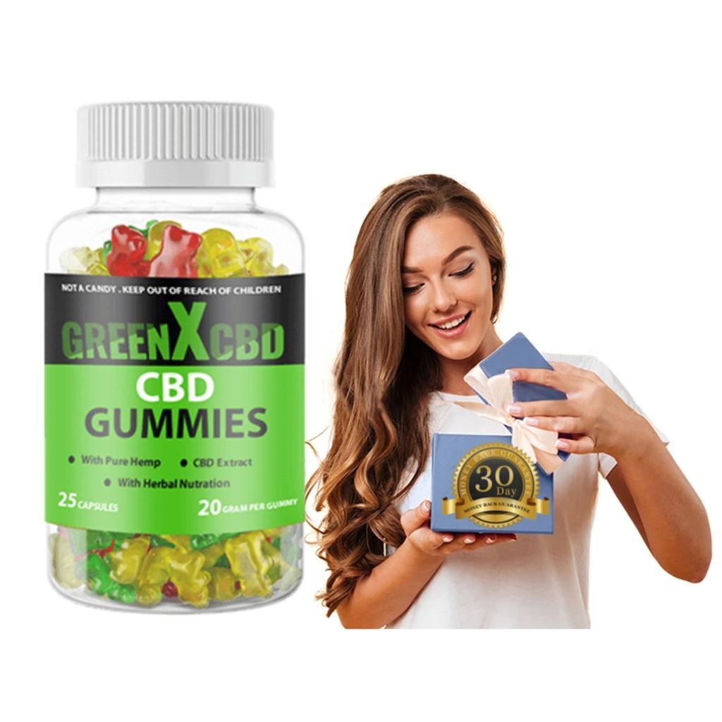 GreenX CBD Gummies